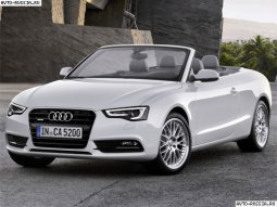 Audi A5 Cabriolet: История модели, фотогалерея и список модификаций