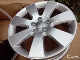 Нові диски репліка Ауді Р-17 (5х112) 4 шт купити в Брянській