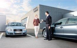 Сервисное обслуживание автомобилей Audi старше пяти лет в Ауди