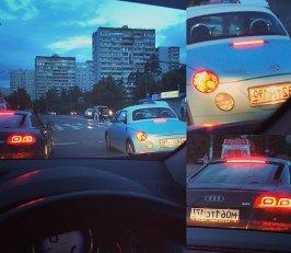 #вечер #июль #лето #2015год #машина #королёв #мо #ауди #тойота #р8 #audi #r8 #toyota #car